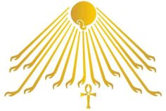 Egypt Sun God Ankh