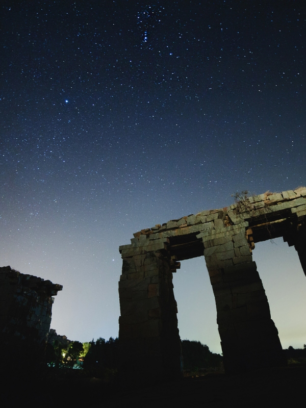 Hampi Orion Night sky
