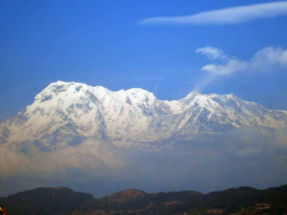 The beautiful Annapurna Himalayan Range