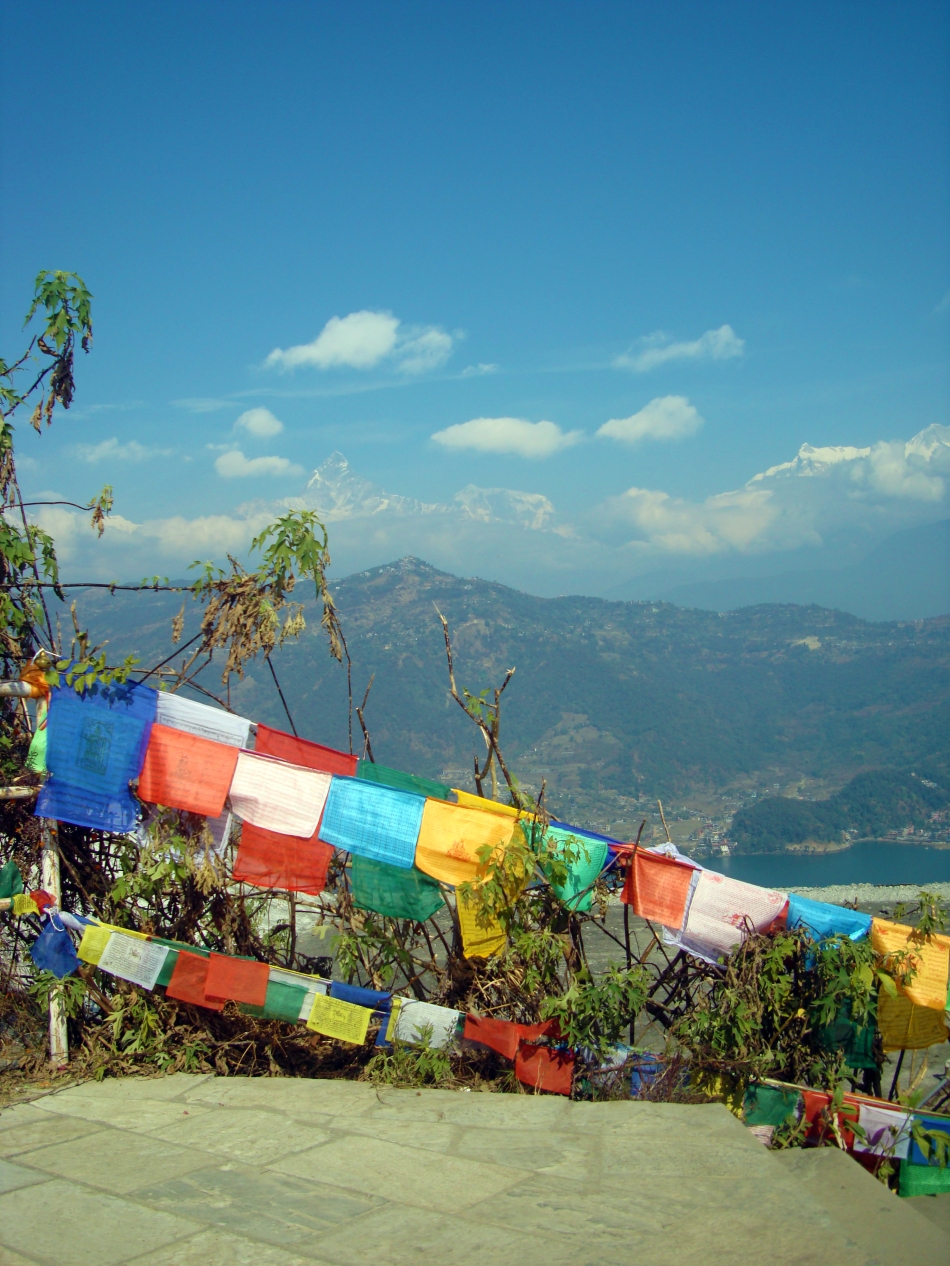 Colorful Prayer Flags