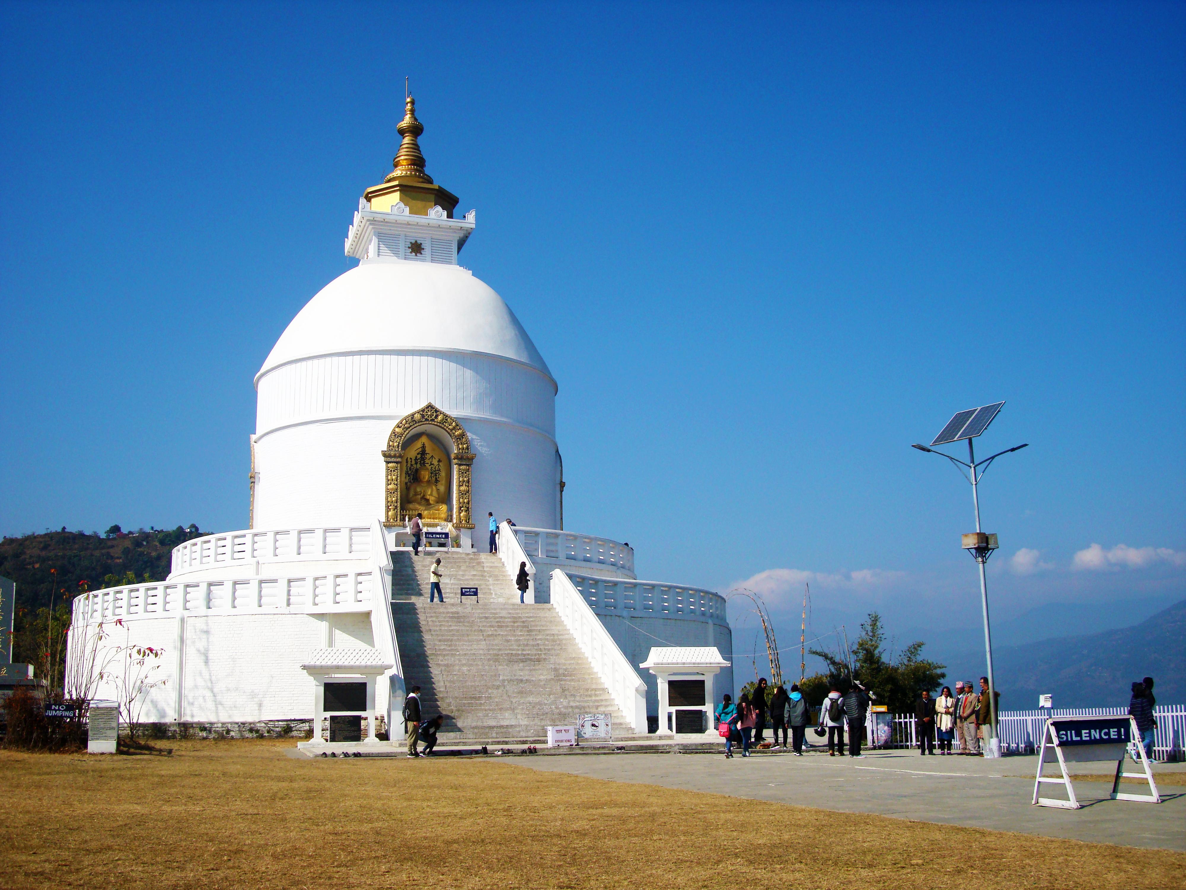 The World Peace Pagoda